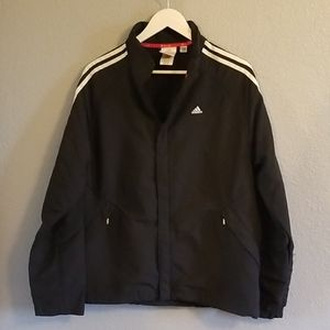 Limited Adidas Black Full Zip Jacket S
